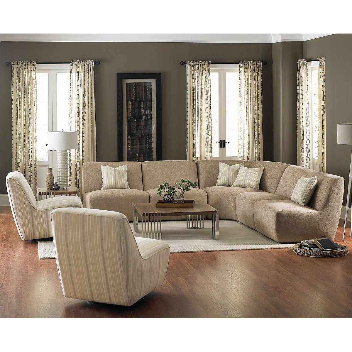 Vista 7 piece Fabric SectionalFabric Sofas   Sectionals   Costco. Costco Furniture Living Room. Home Design Ideas