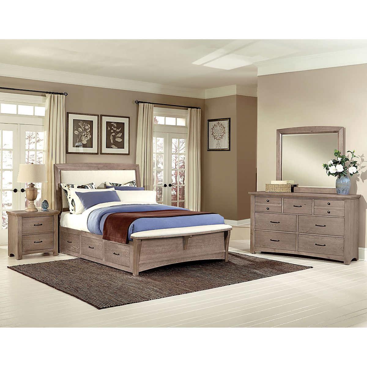 Chambers Dual Storage 5 Piece Queen Bedroom Set