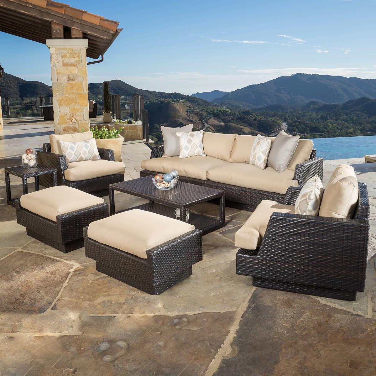 Portofino Comfort 7-piece Seating Set in Espresso - Portofino Costco