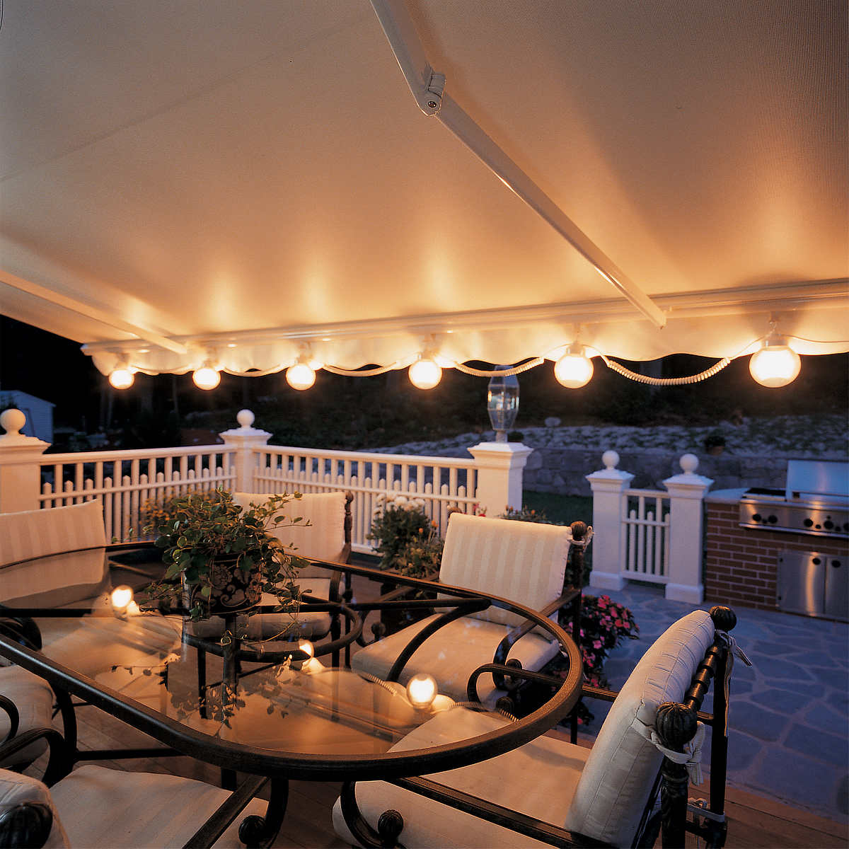 Outdoor lighting - Sunsetter Patio Awning Lights