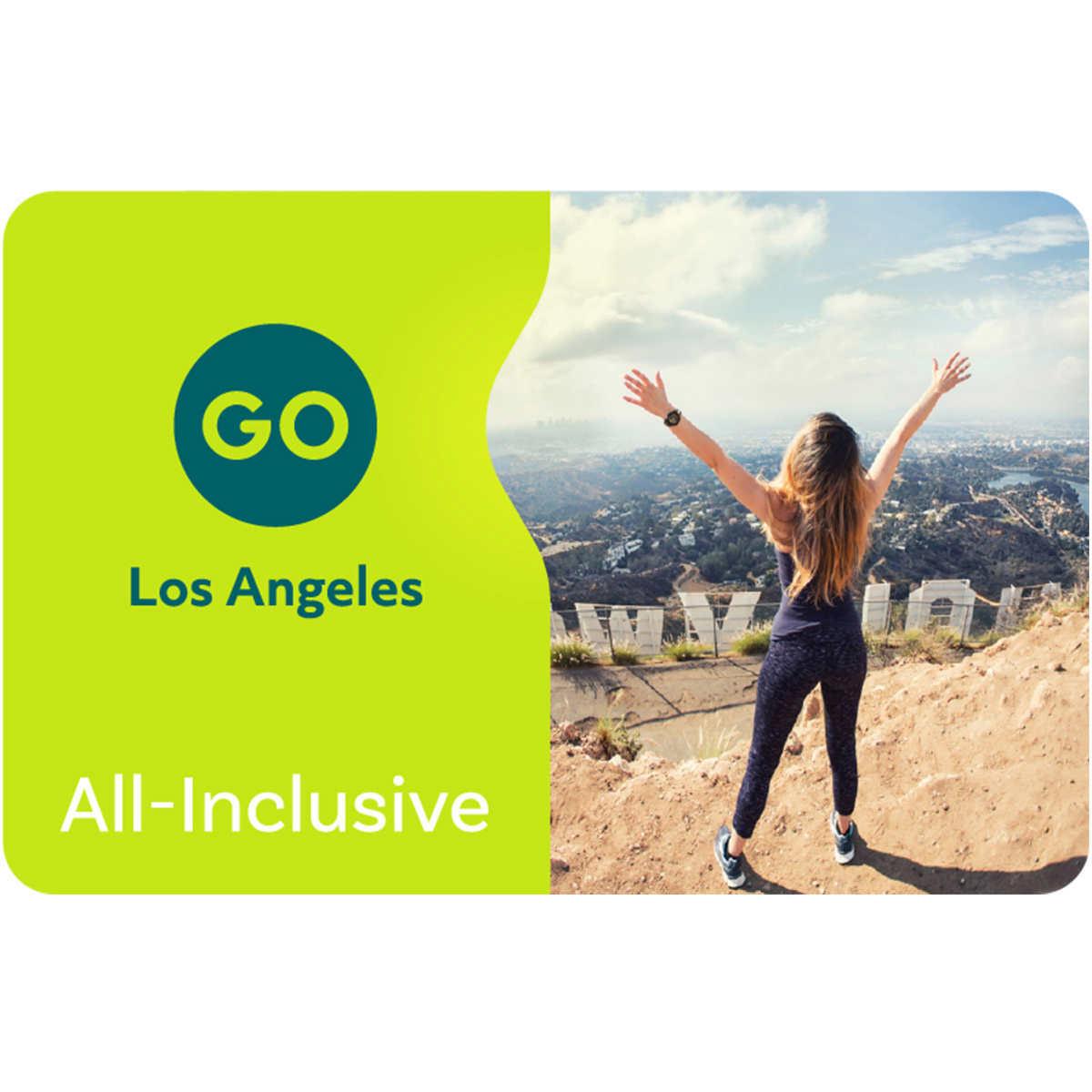 4-Day Go Los Angeles eCard with Universal Studios