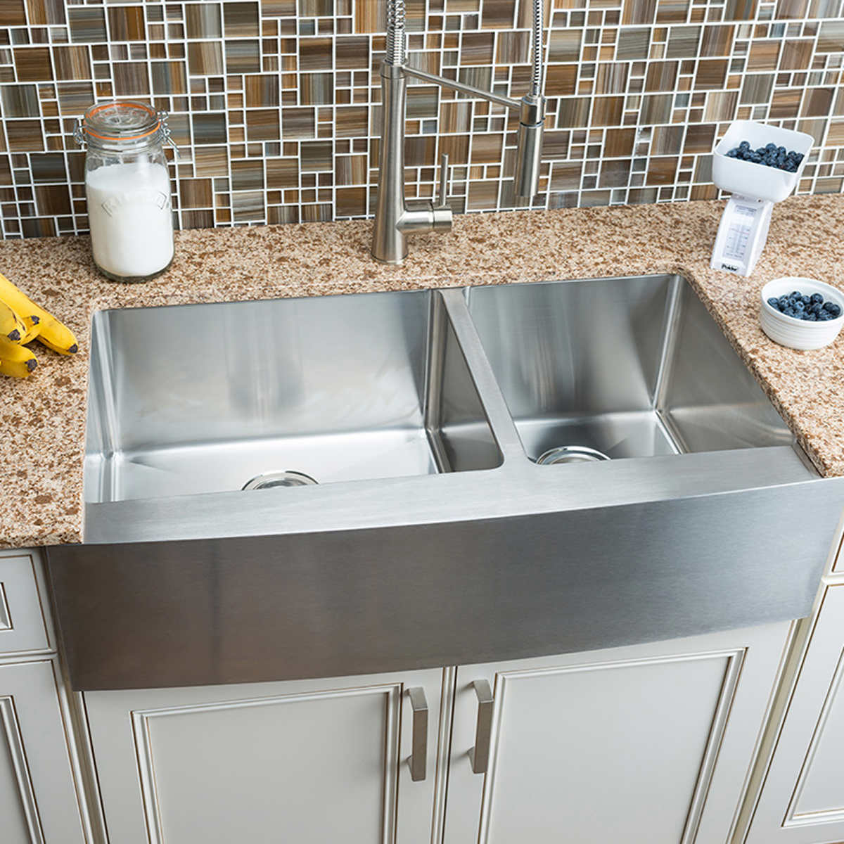 Groovy Hahn Chef Series Handmade Extra Large 60 40 Farmhouse Sink Beutiful Home Inspiration Xortanetmahrainfo