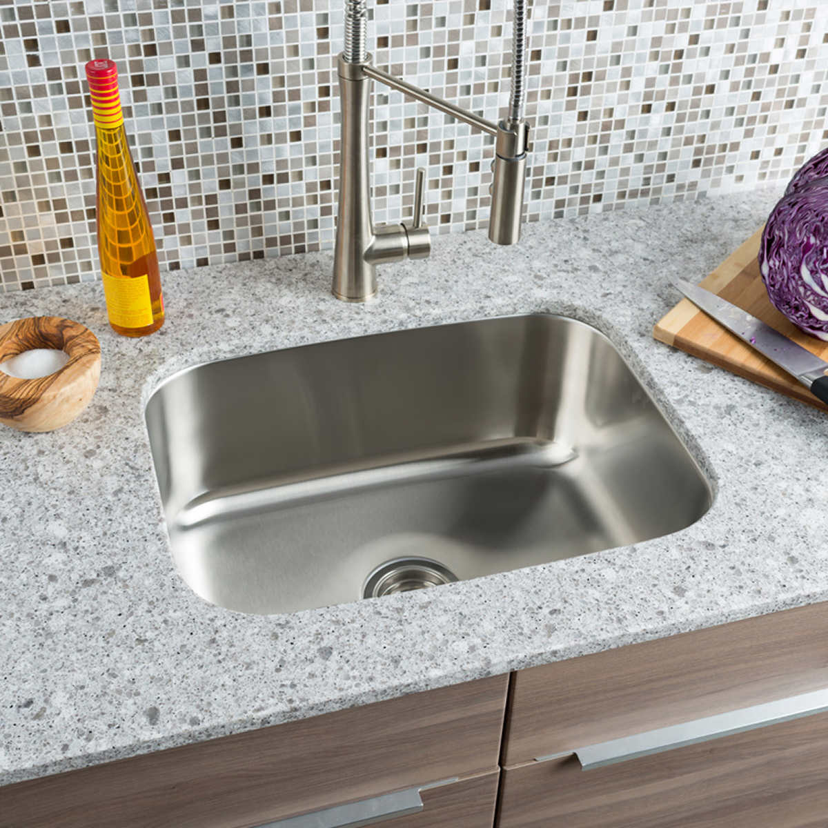 Hahn Chef Series Large Single Bowl Sink product hahn kitchen sinks Click to Zoom
