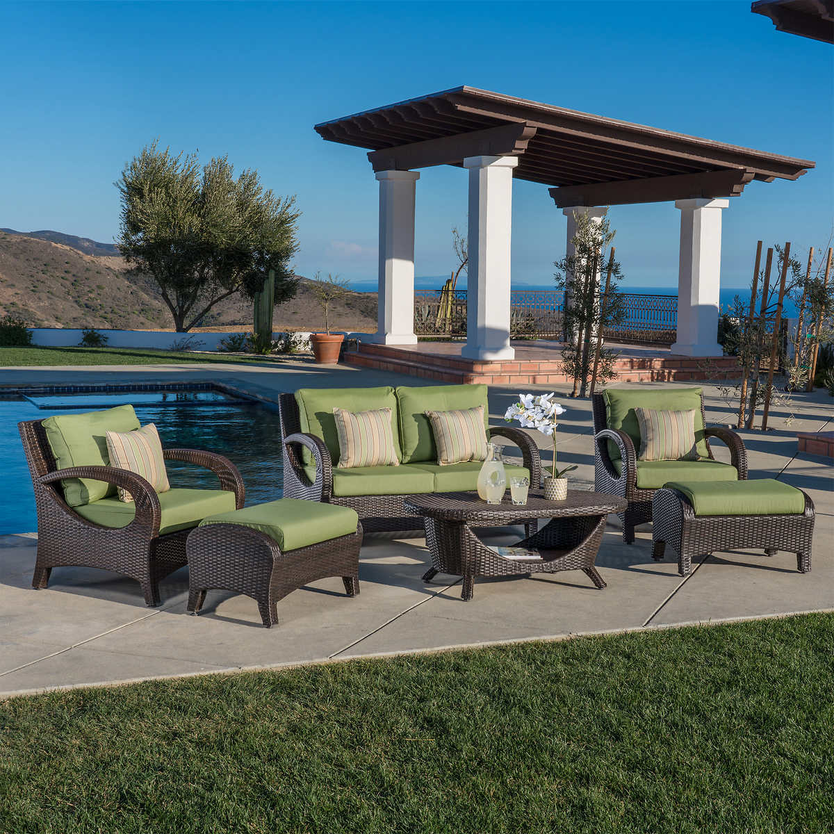 Vermont 6-piece Seating Set - Top Selling Patio Costco