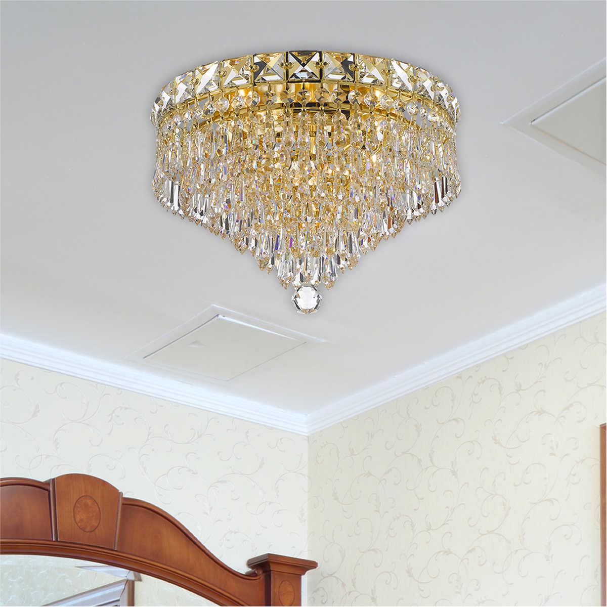 Lighting by pecaso luminaire flush mount chandelier 3 lights click to zoom arubaitofo Gallery