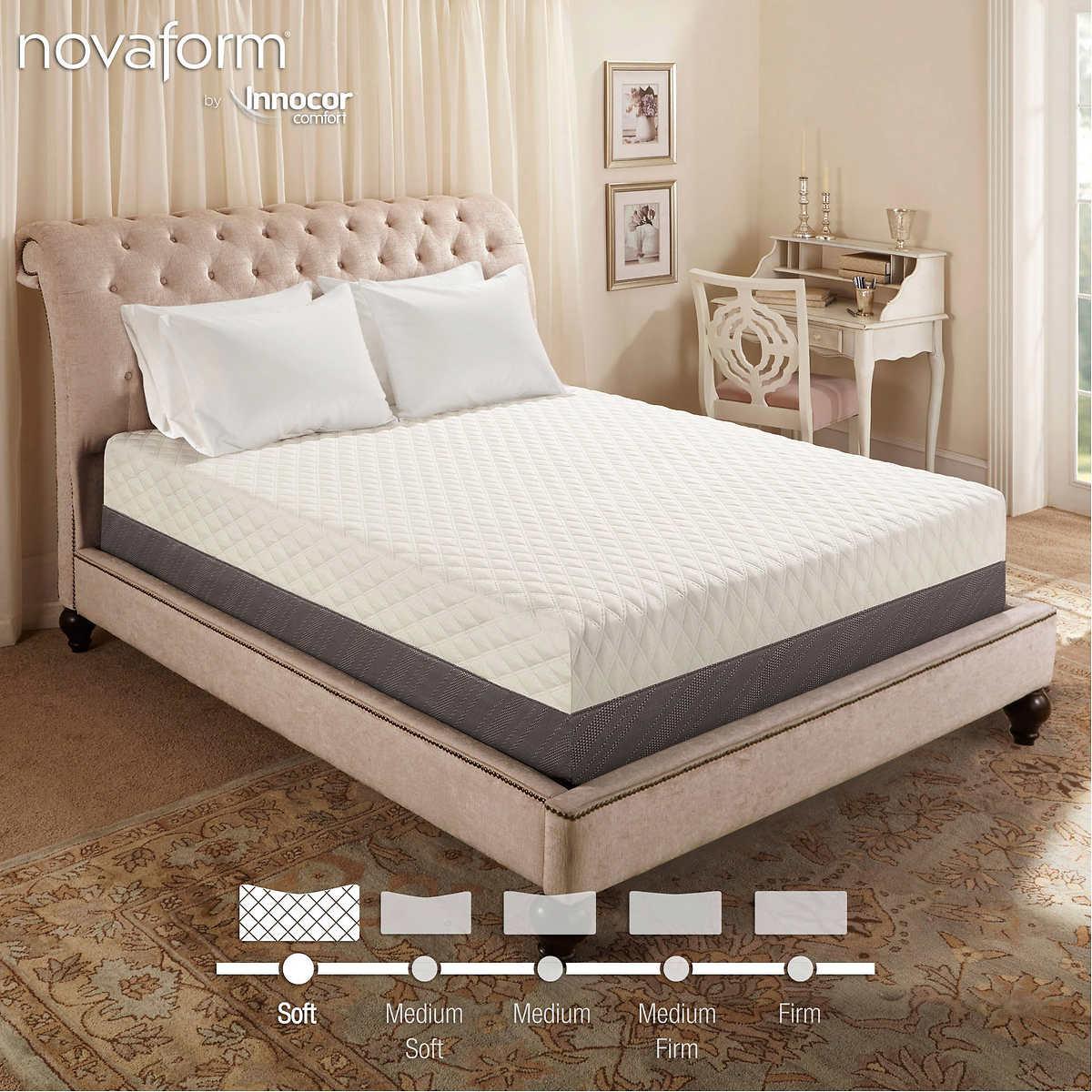 """Novaform 14"""" Altabella Cal King Memory Foam Mattress. Item #748384. Click  to Zoom"""
