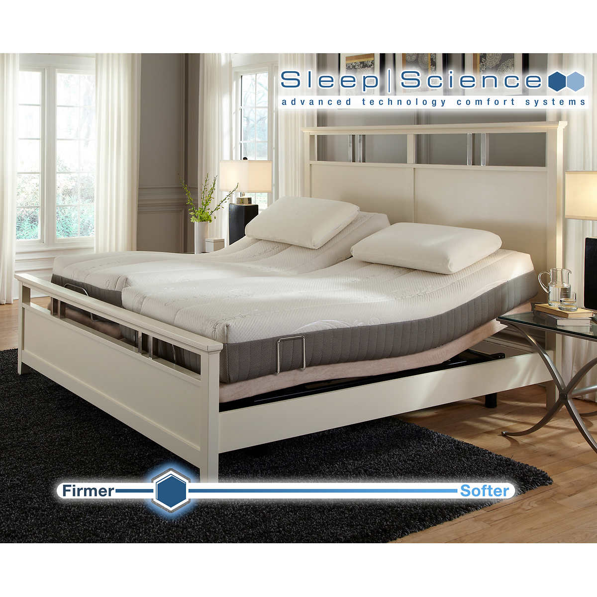 click to zoom - Adjustable Queen Bed Frame