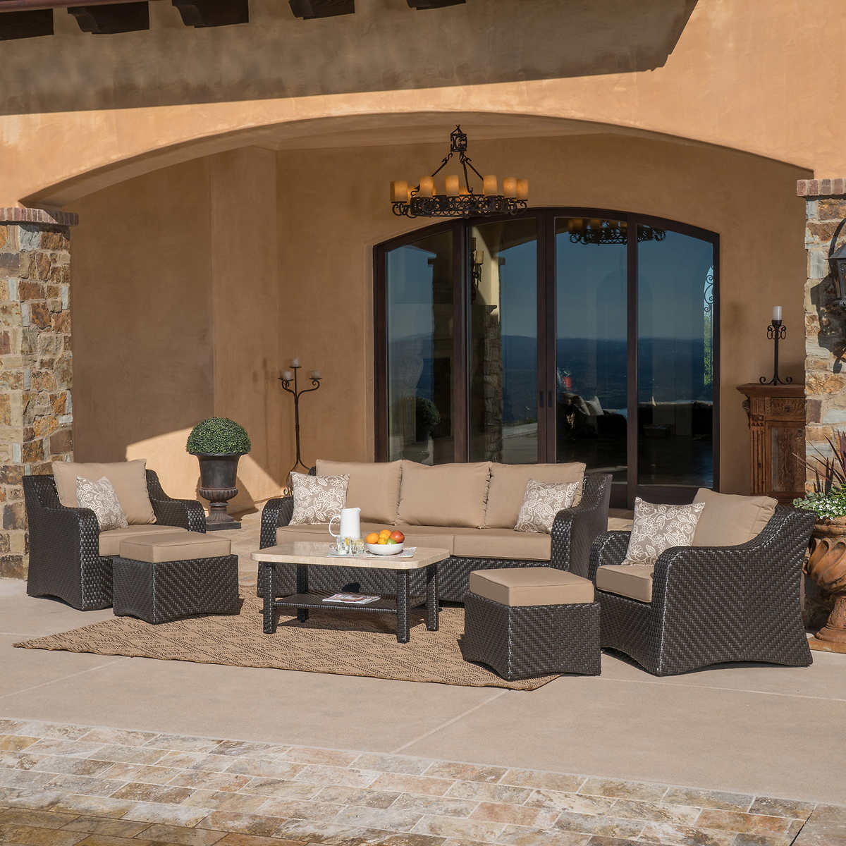 Valencia 6-piece Seating Set by Mission Hills - Valencia Costco