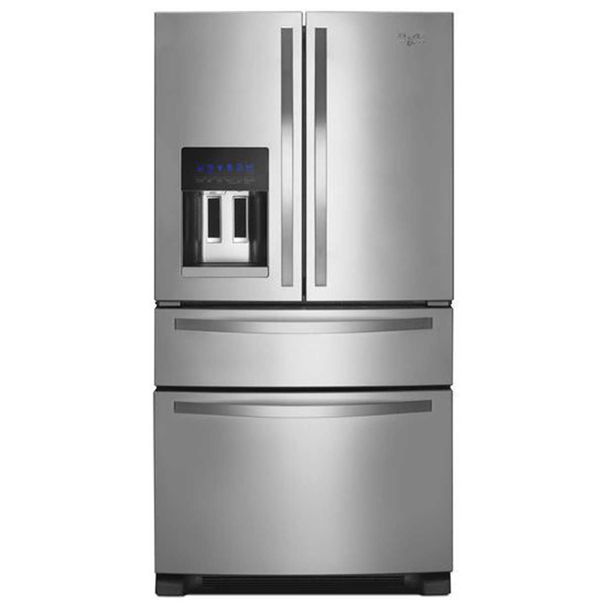Non Stainless Steel Appliances Whirlpool 25cuft French Door Stainless Steel Refrigerator With