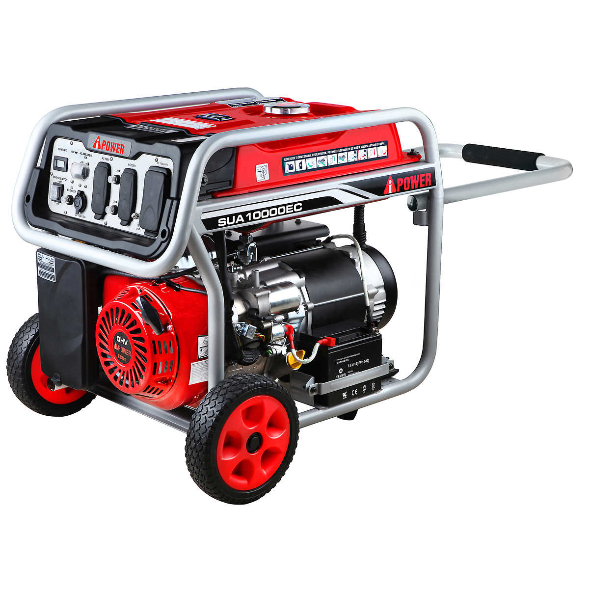 A-iPower 8200W Running / 10000W Peak Gasoline Powered Portable Generator  with Electric Start