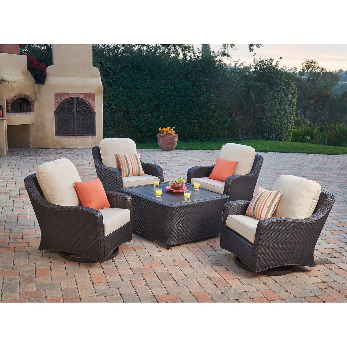 1 1 - Canyon Park 5-piece Chat Set By Mission Hills