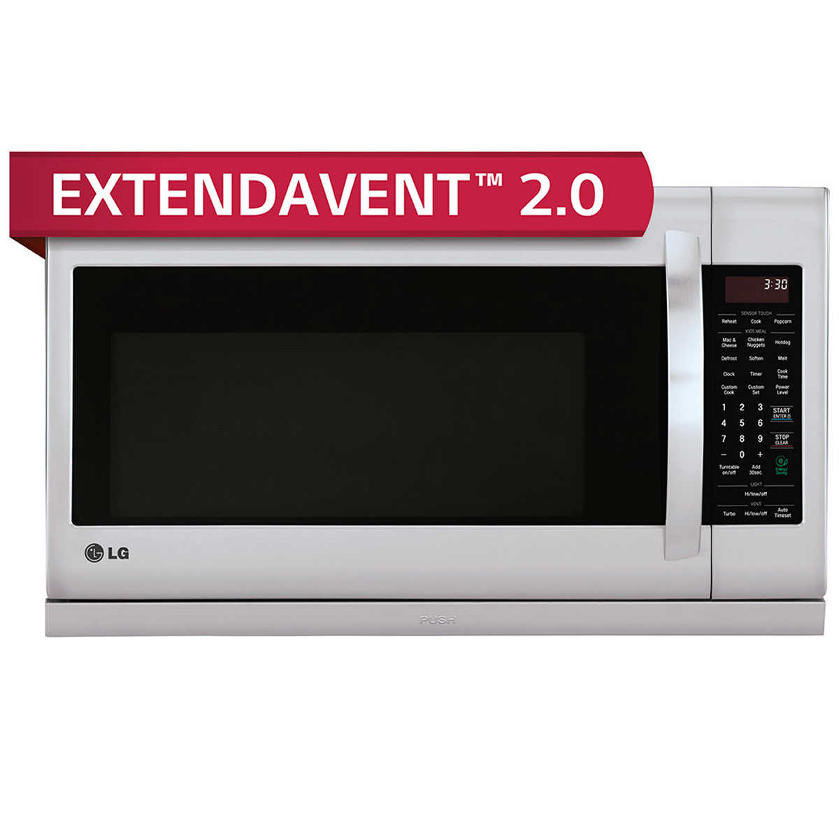 Lg 2 2cuft Over The Range Microwave Oven 1 Click To Zoom