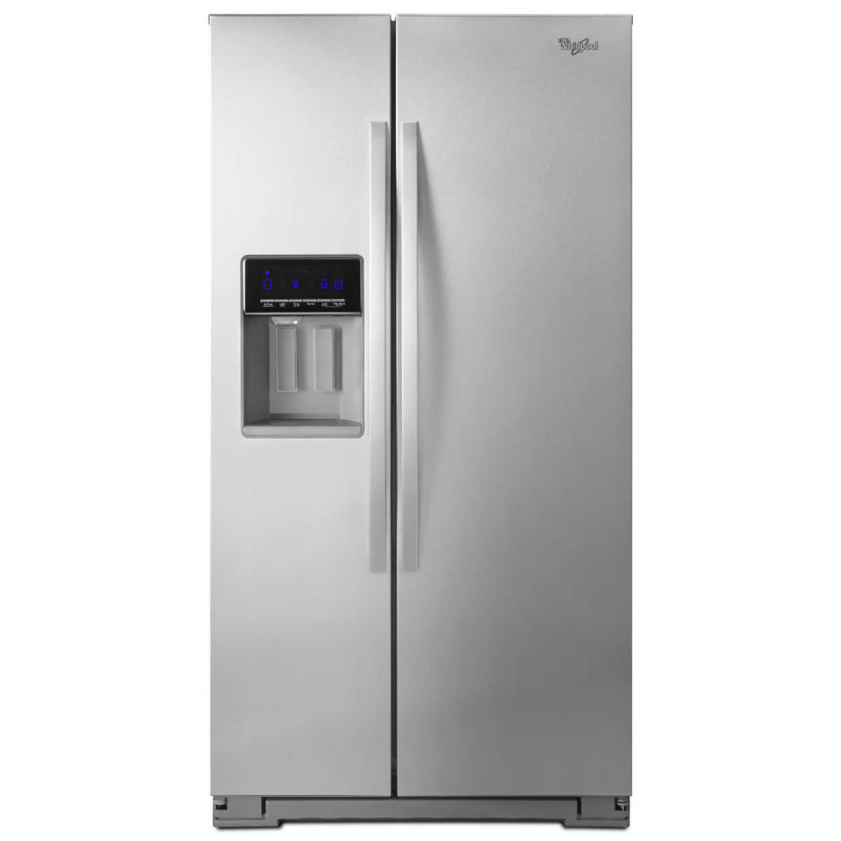 Whirlpool white ice costco - Whirlpool 21cuft Counter Depth Side By Side Refrigerator In Stainless Steel