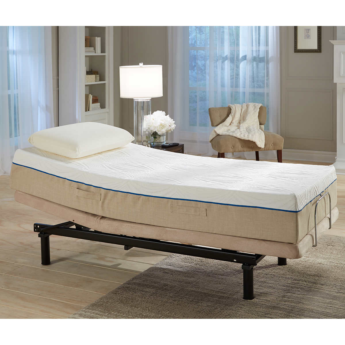 Twin size sleep number bed prices - Sleep Science Carina 11 Twin Xl Gel Memory Foam Mattress With Adjustable Base
