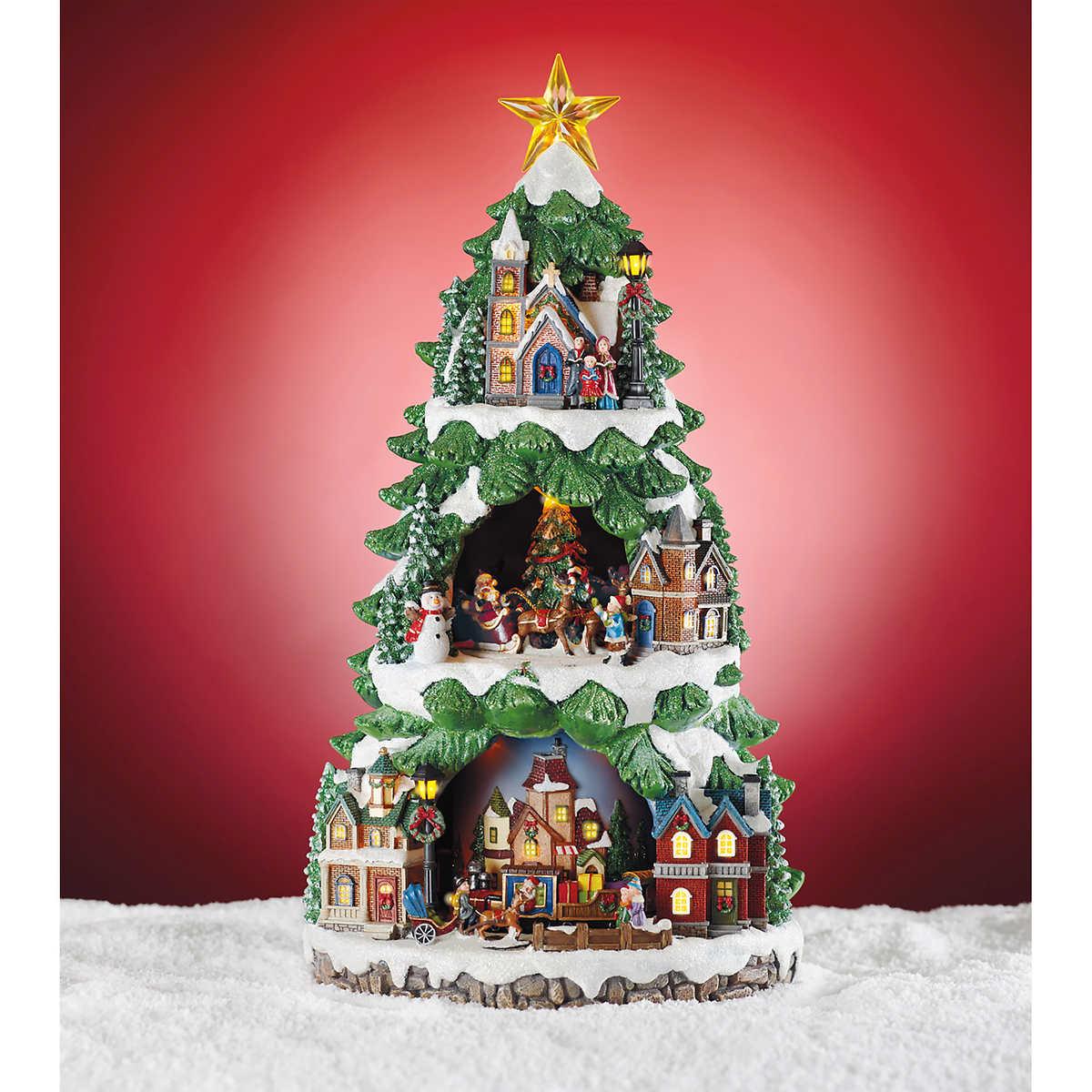 click to zoom - Animated Christmas Tree