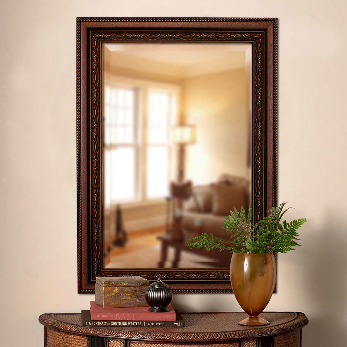 Dressing table designs with full length mirror for girls - Addyson Mirror