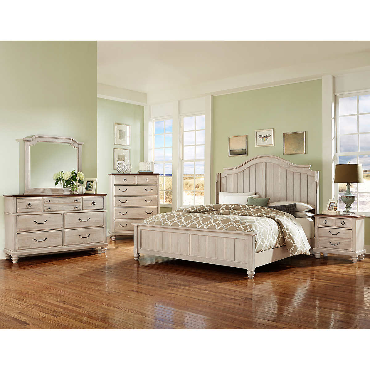 queen bedroom sets  costco - savannah piece queen bedroom set