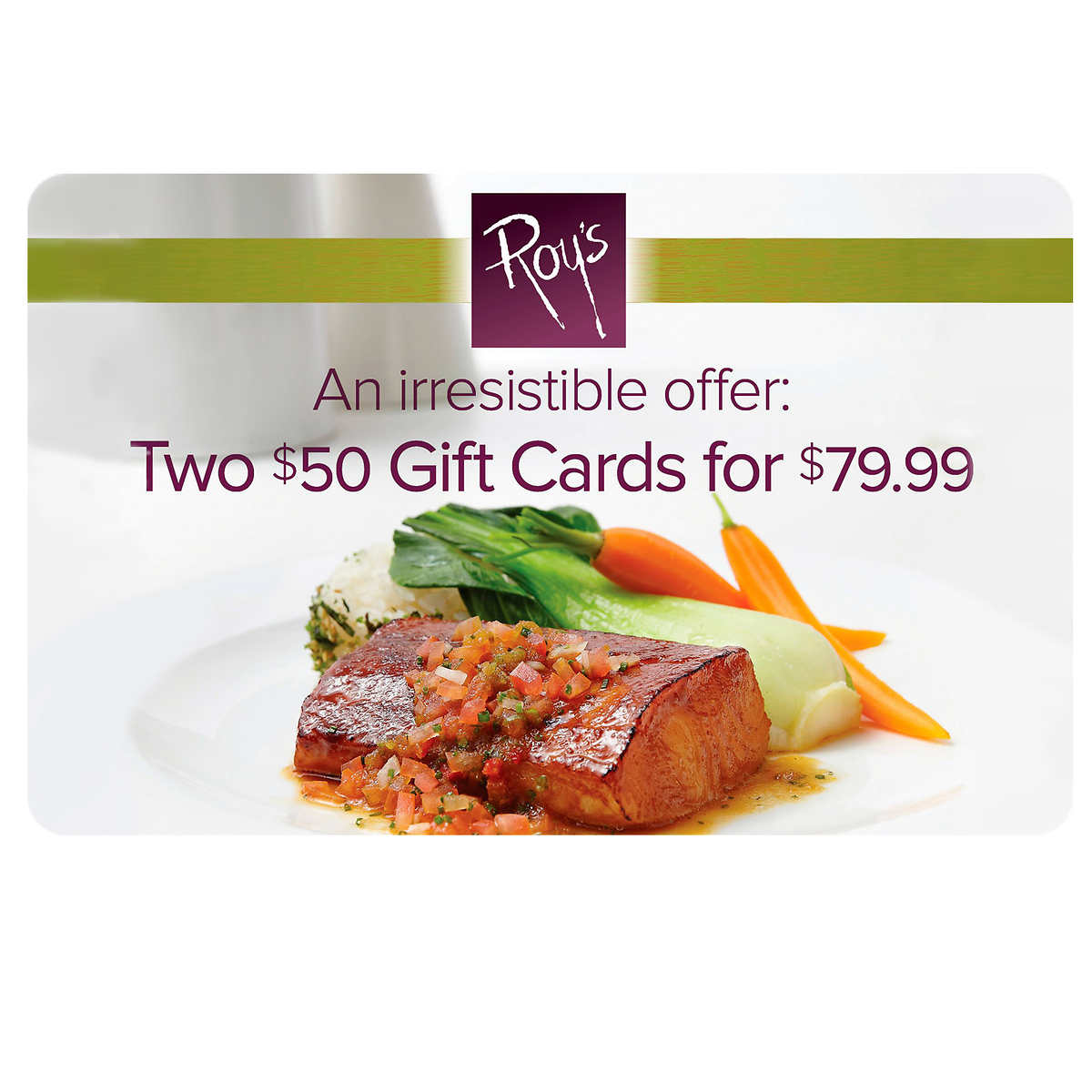 Pacific grill two 50 gift cards member only item xflitez Gallery
