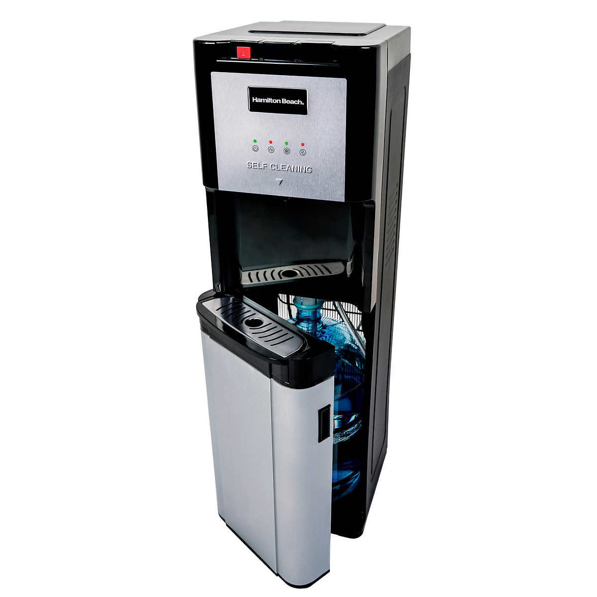 Hot And Cold Water Cooler Dispenser Hamilton Beach Commercial Grade Hot Cold Top Loading Water Dispenser
