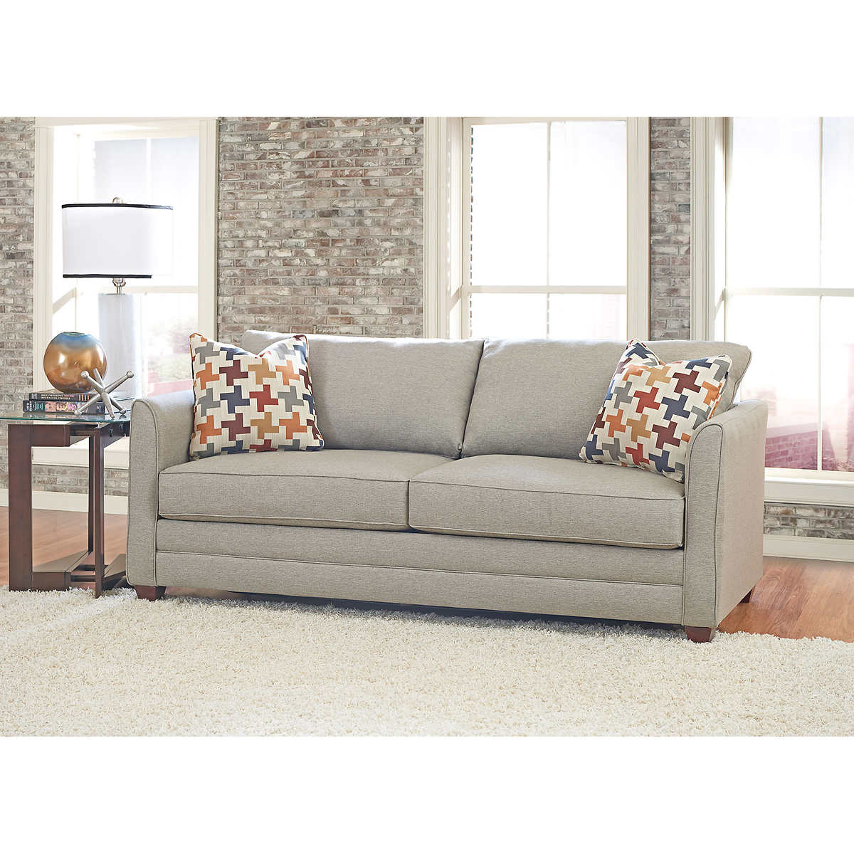 Sofa Sleeper Costco: Costco Sleeper Sofas Tilden Fabric Queen Sleeper Sofa