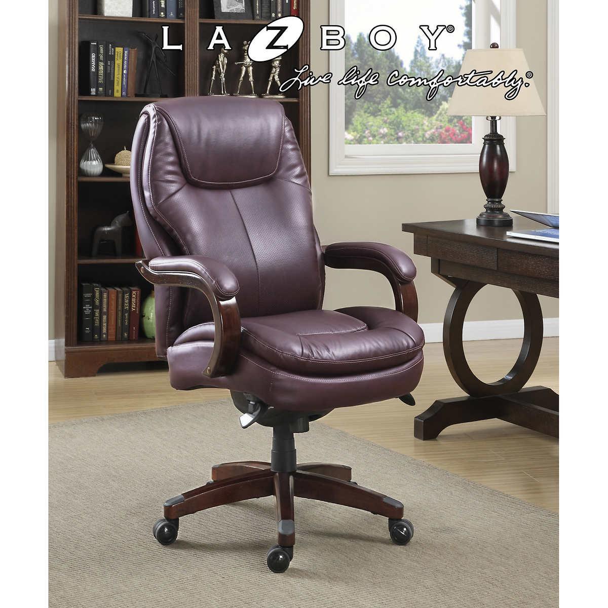 La Z Boy Aventine Big Tall Air Technology Executive Office Chair