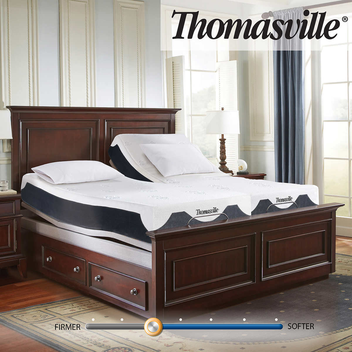Thomasville 12 Elite Iii Latex Hybrid Split King Mattress With