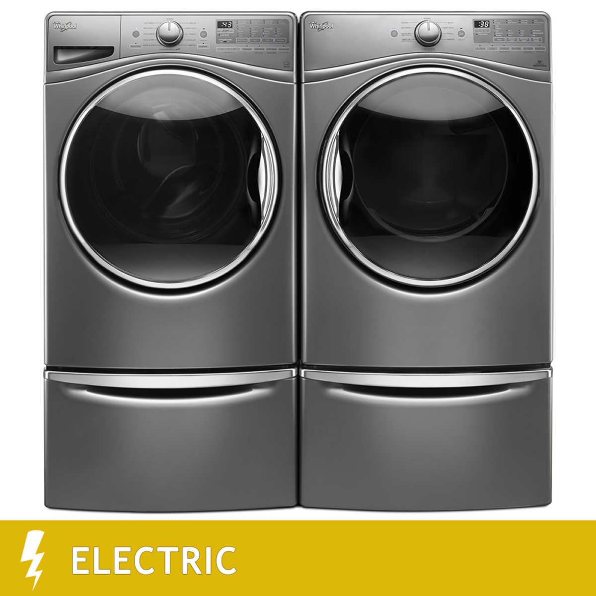 Whirlpool white ice costco - Out Of Stock Whirlpool Steam Clean 4 5cuft With Load Go Bulk Dispenser Washer 7 4cuft Electric Steam
