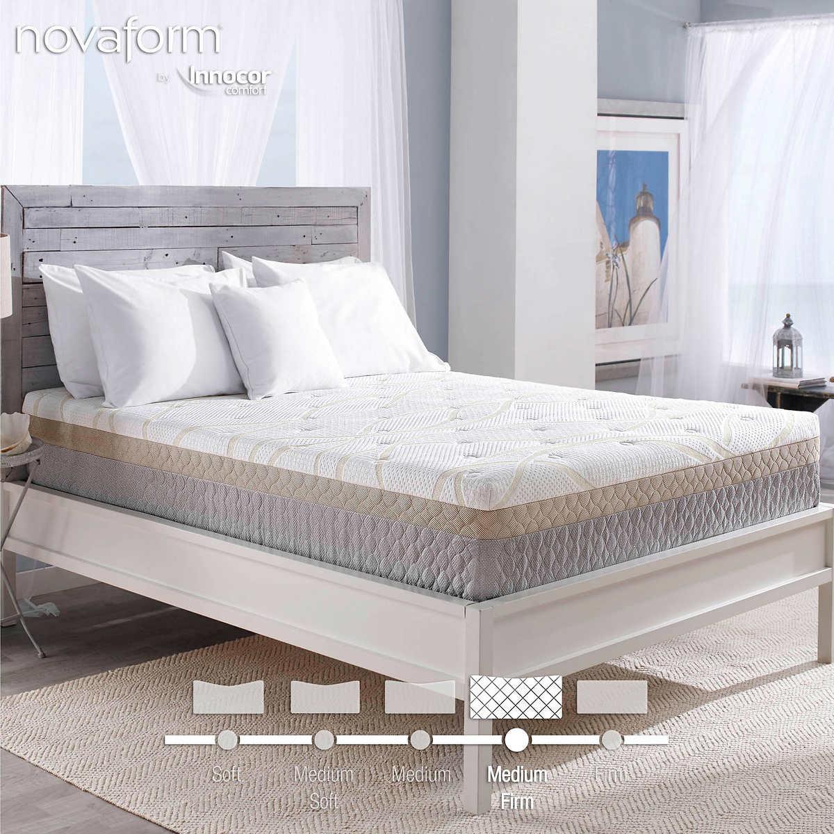 "Novaform 12"" Bella Venta Cal King Gel Memory Foam Mattress"