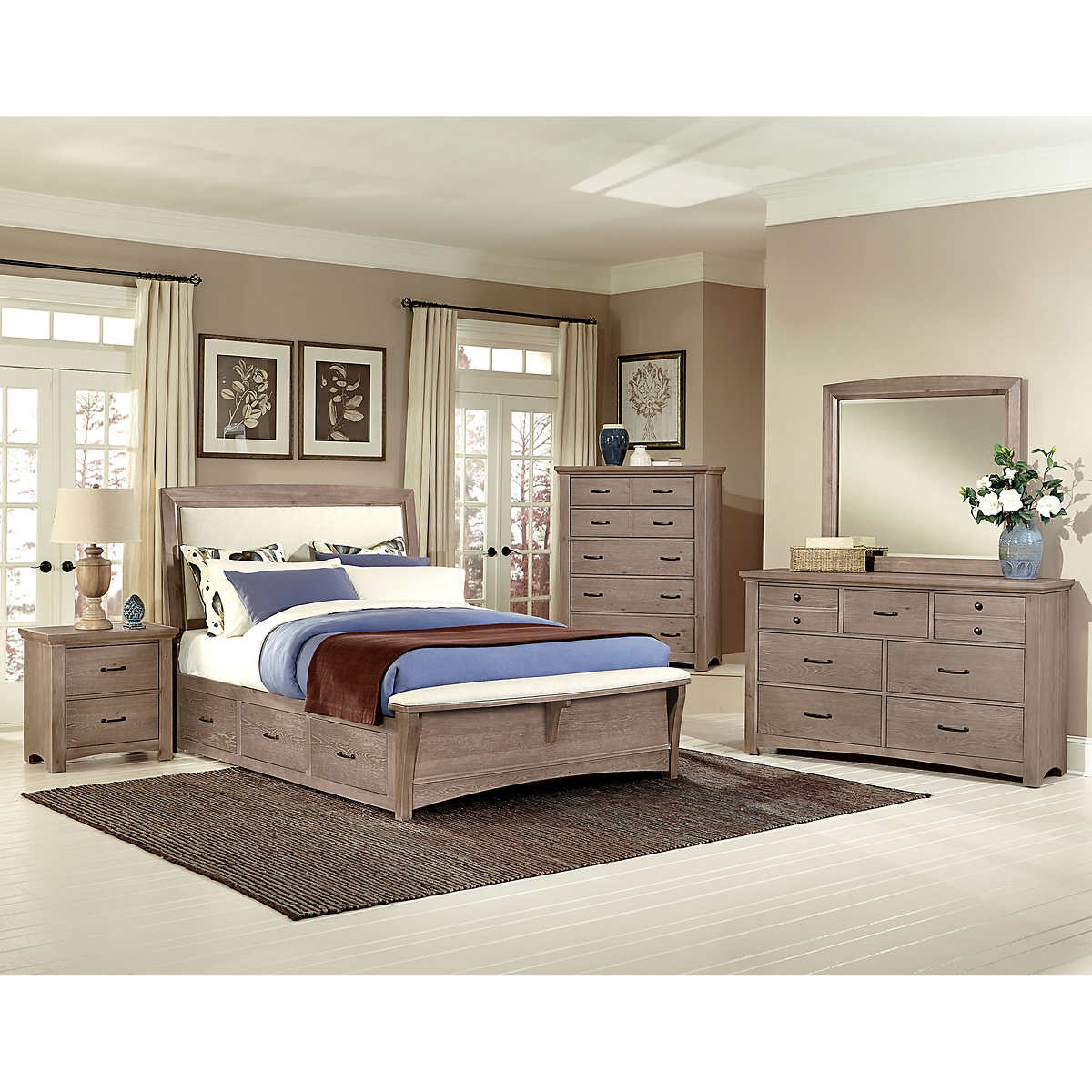 Chambers Dual Storage 6-piece King Bedroom Set