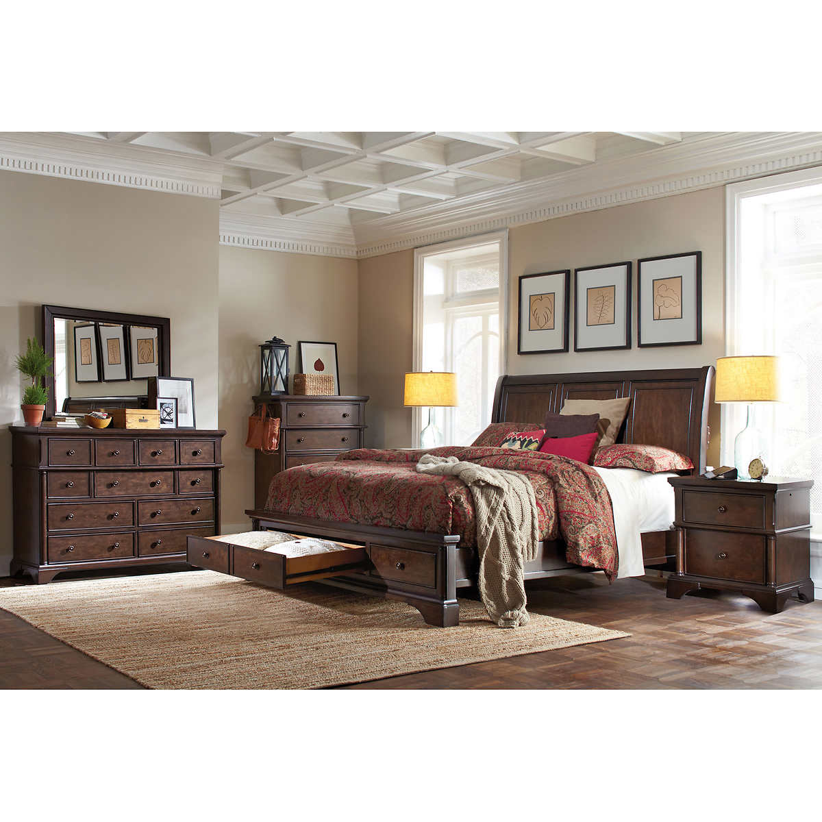 King King Bedroom Sets | Costco