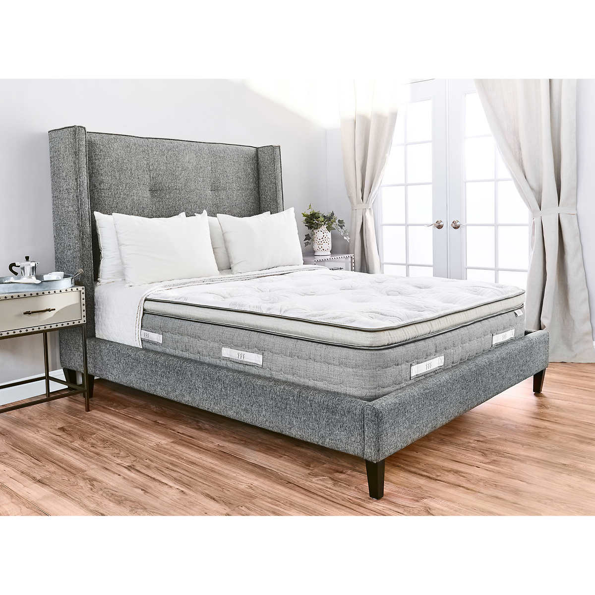best service dc314 817a3 Brentwood Home Sequoia Euro Pillow Top King Mattress