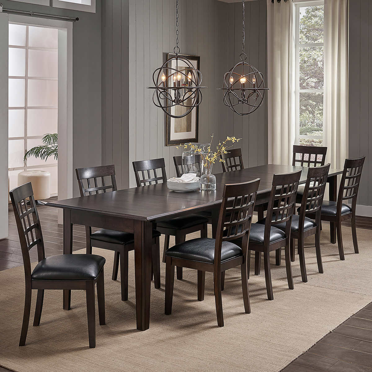 alec piece dining set - alec piece dining set item  click to zoom