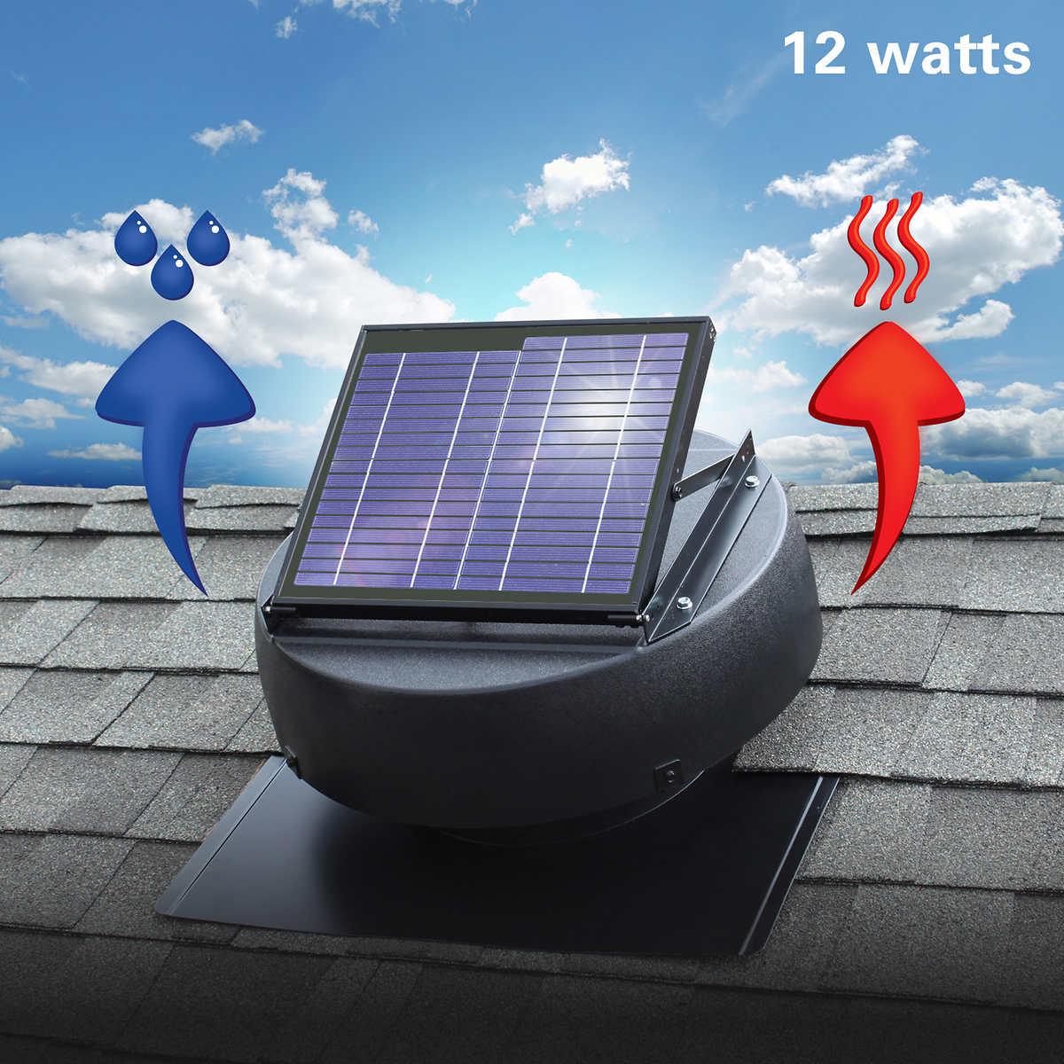 Solar star attic fan complaints - Solar Attic Fan Ventilates 1 350 Sq Ft