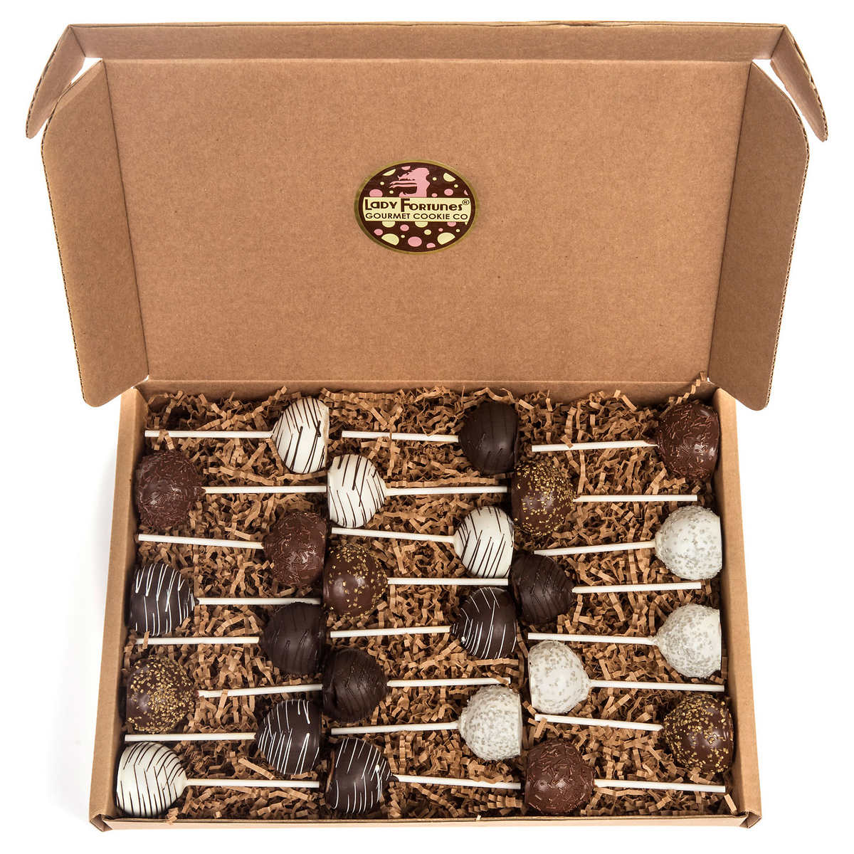 bakery desserts summer classic truffle cake pop 20 count