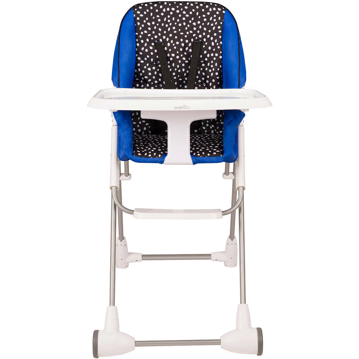 Space saver high chair boy - Evenflo Symmetry High Chair Hayden Dots