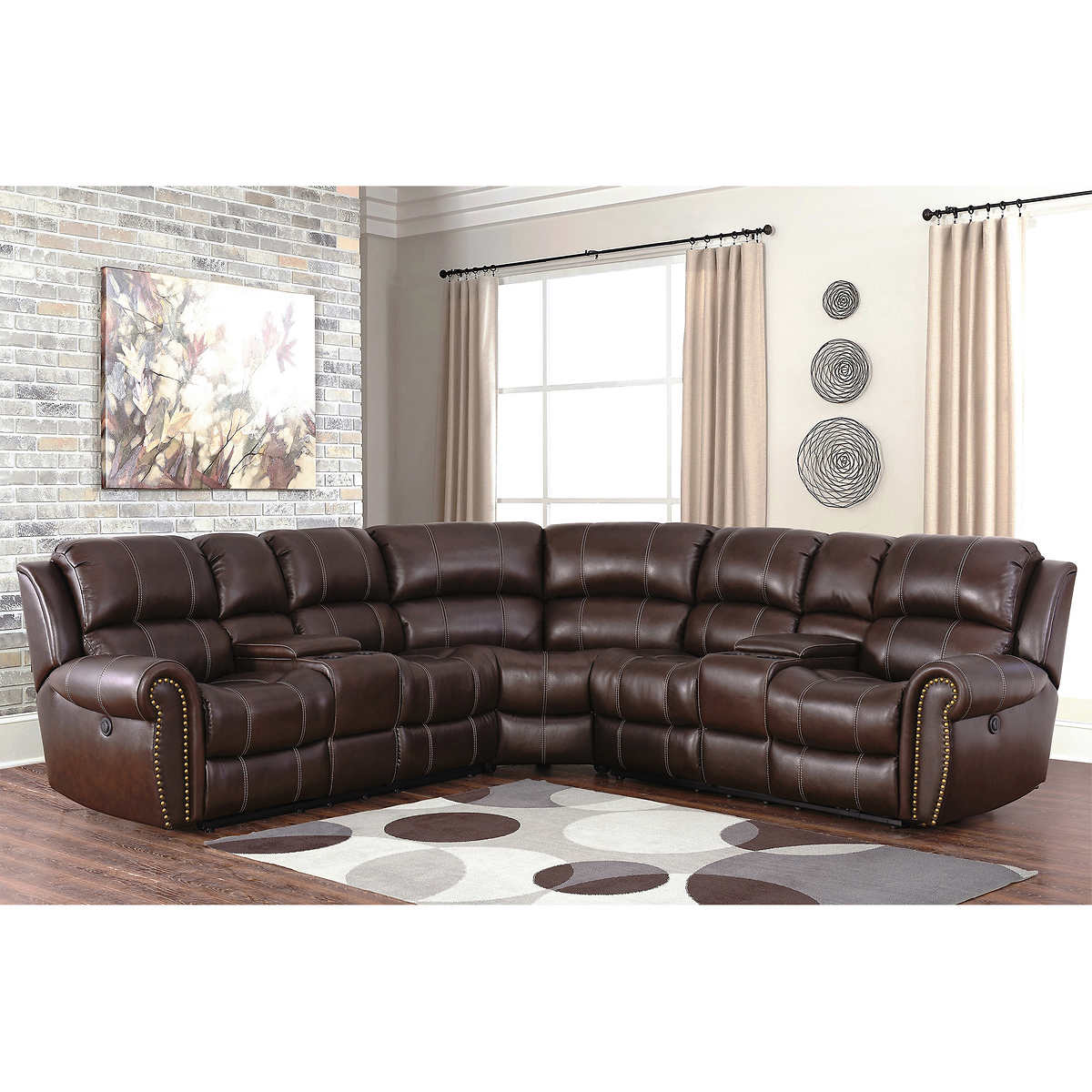 Living Room Sets Leather Recliner Modern House