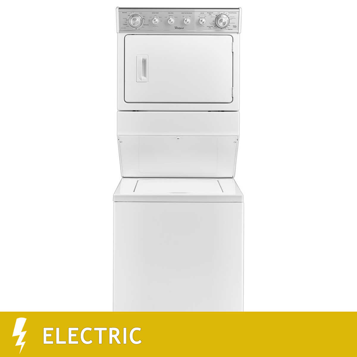 Whirlpool white ice costco - Whirlpool 2 5cuft Capacity Washer And 5 9cuft Capacity Electric Dryer Combination In White