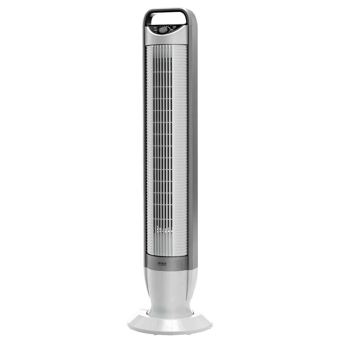 Seville Classics Energy Saving Tilt Tower Fan