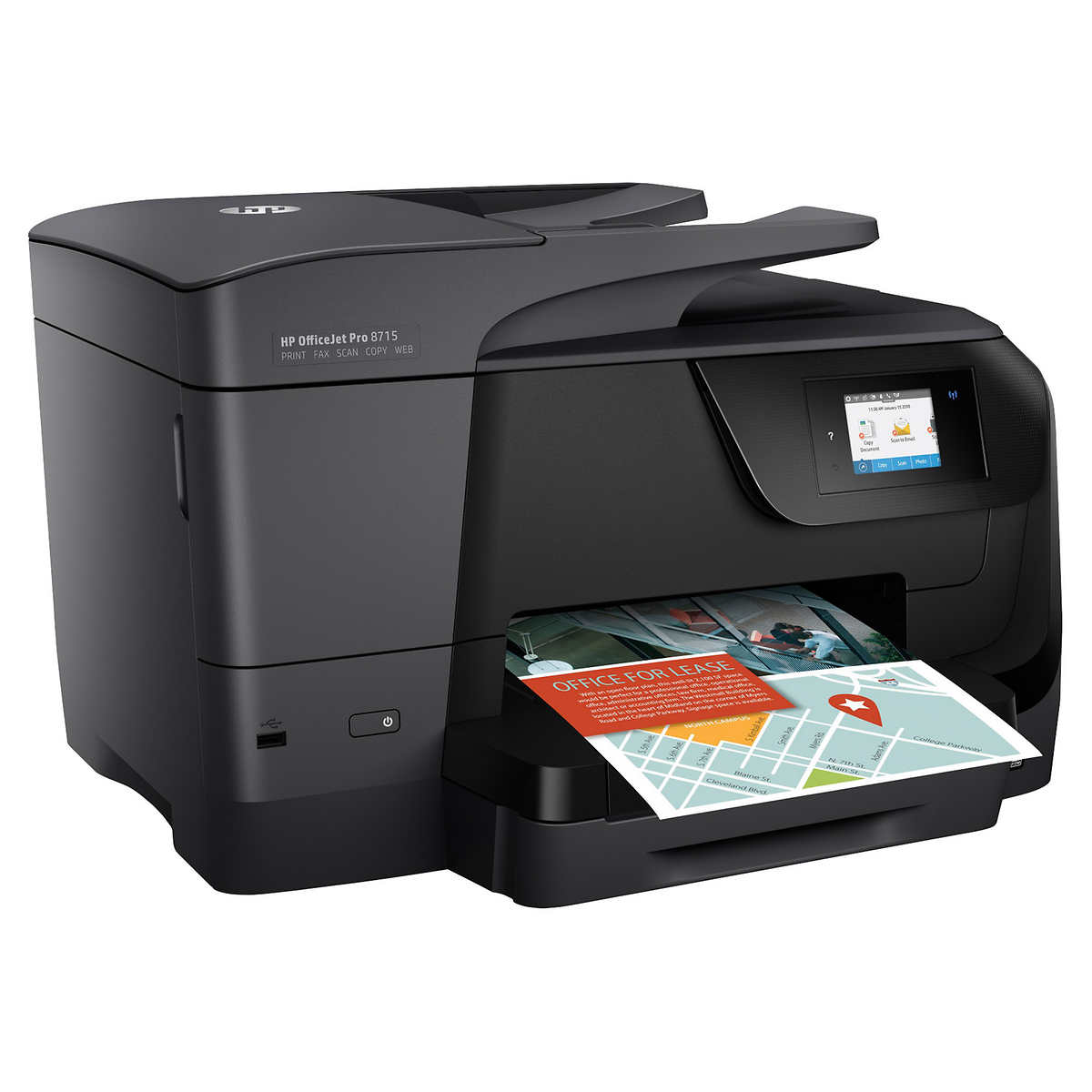 Color art printing anchorage - Hp Officejet Pro 8715 All In One Color Inkjet Printer