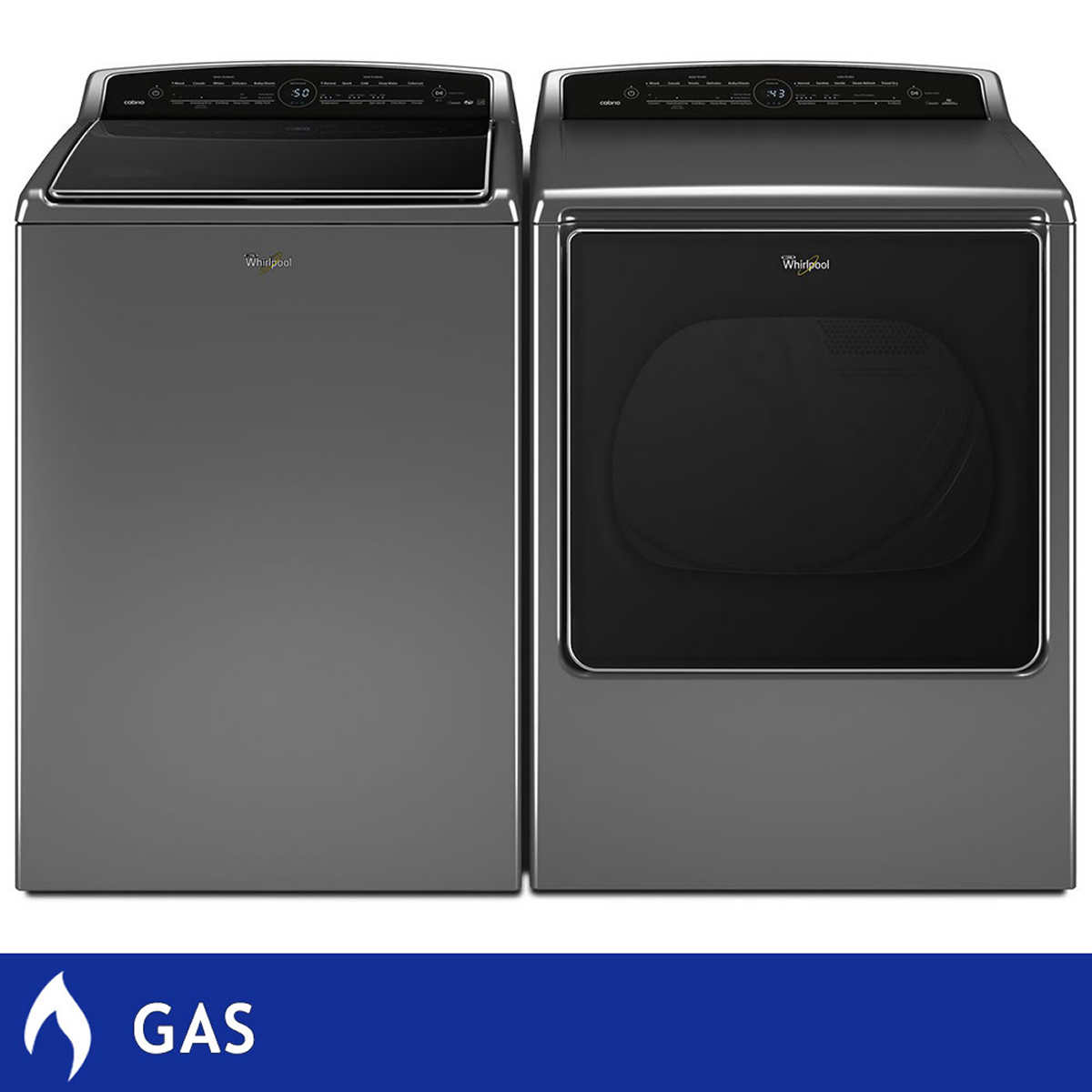 Whirlpool top load washer and dryer - Click To Zoom