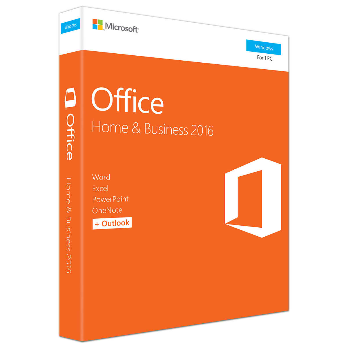 Microsoft Office Home and Business 2016, Product Key Card