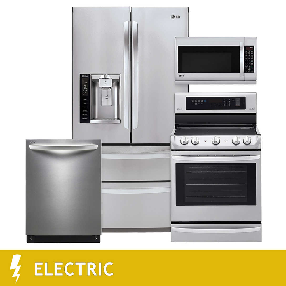 Uncategorized Stainless Steel Kitchen Appliance Package Sale kitchen suites costco lg 4 piece electric 27cuft ultra capacity door french suite