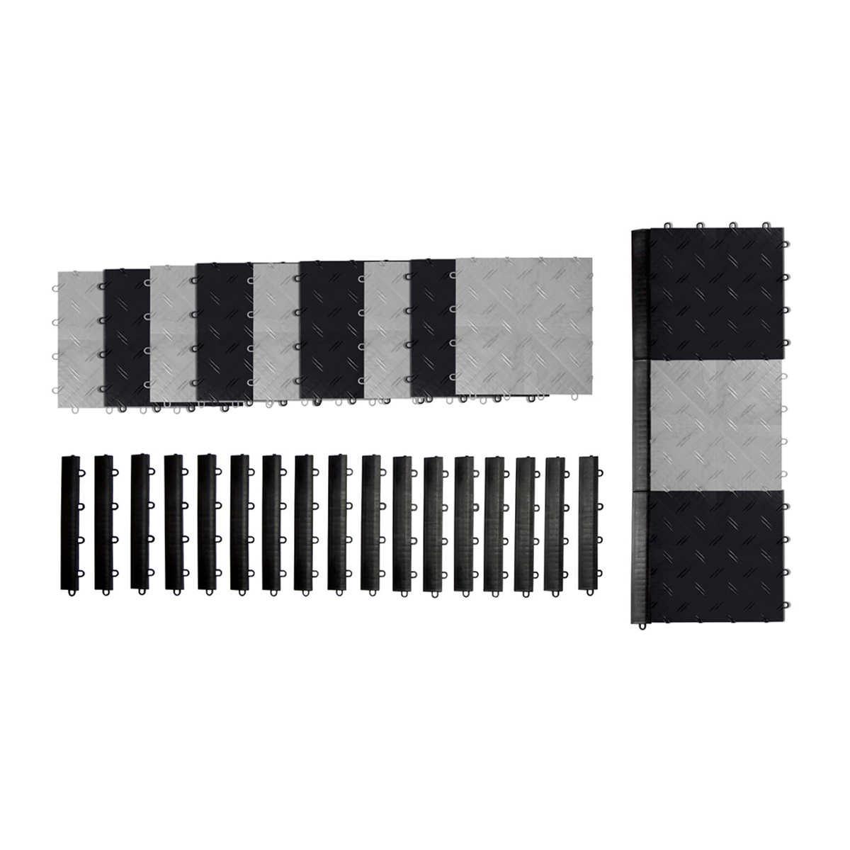 Black And White Flooring Garage Flooring Costco
