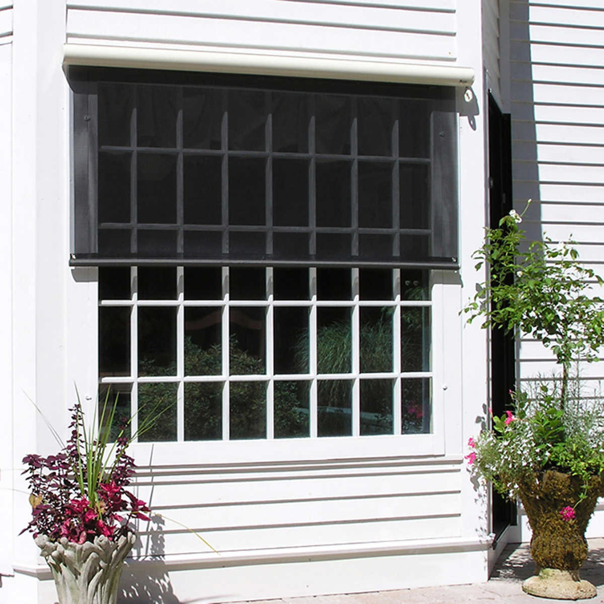 Excellent Sunsetter Easyshades Home Interior And Landscaping Ferensignezvosmurscom