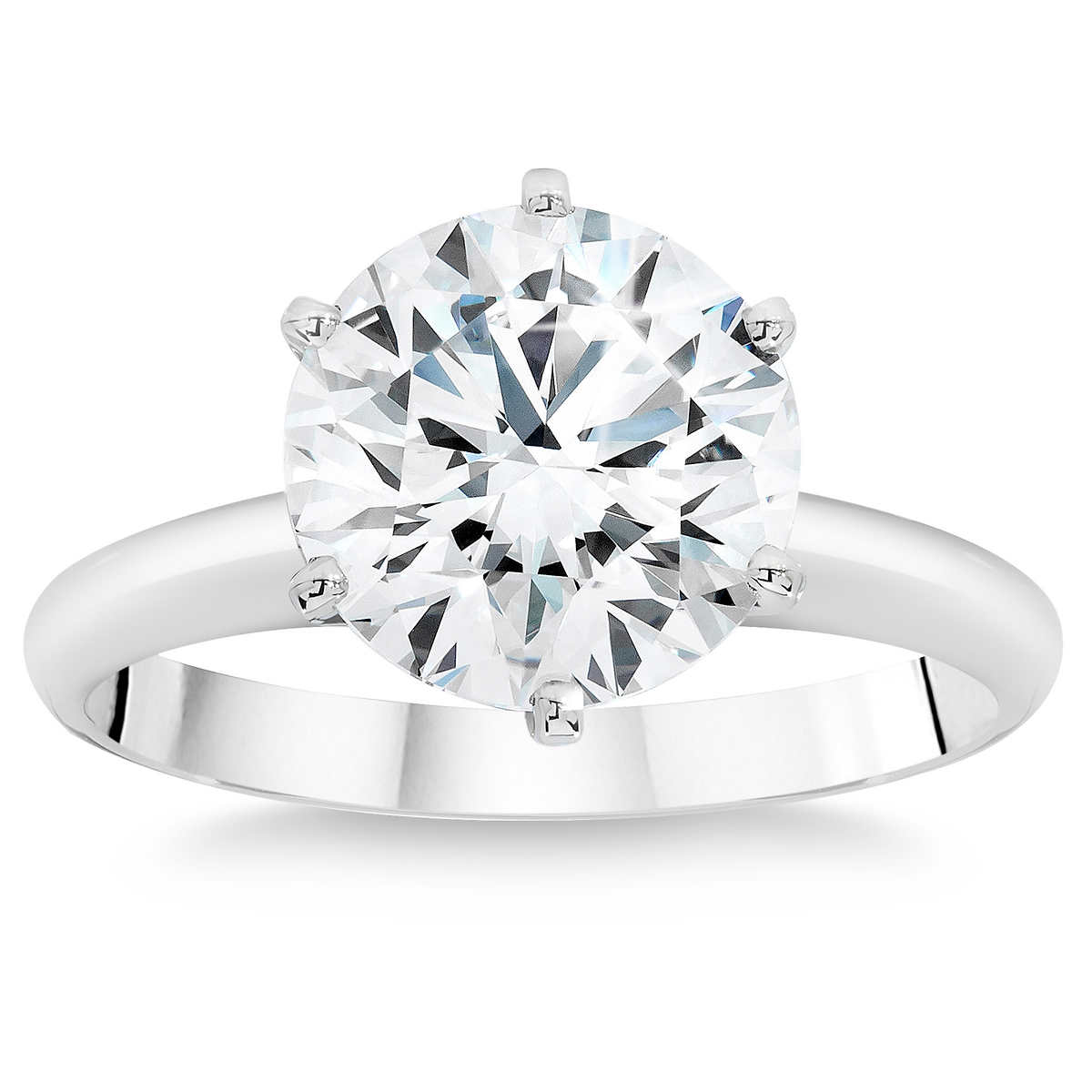 rings wedding rings dollars Round Brilliant 3 19 ct Internally Flawless G Color Diamond Solitaire Ring 99
