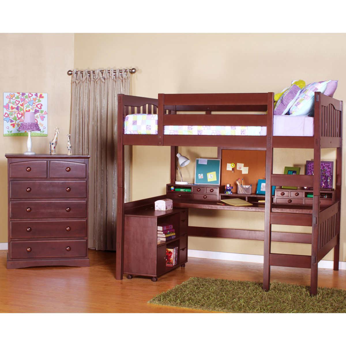 Bunk Beds Tyler Brown Bunk Beds Costco