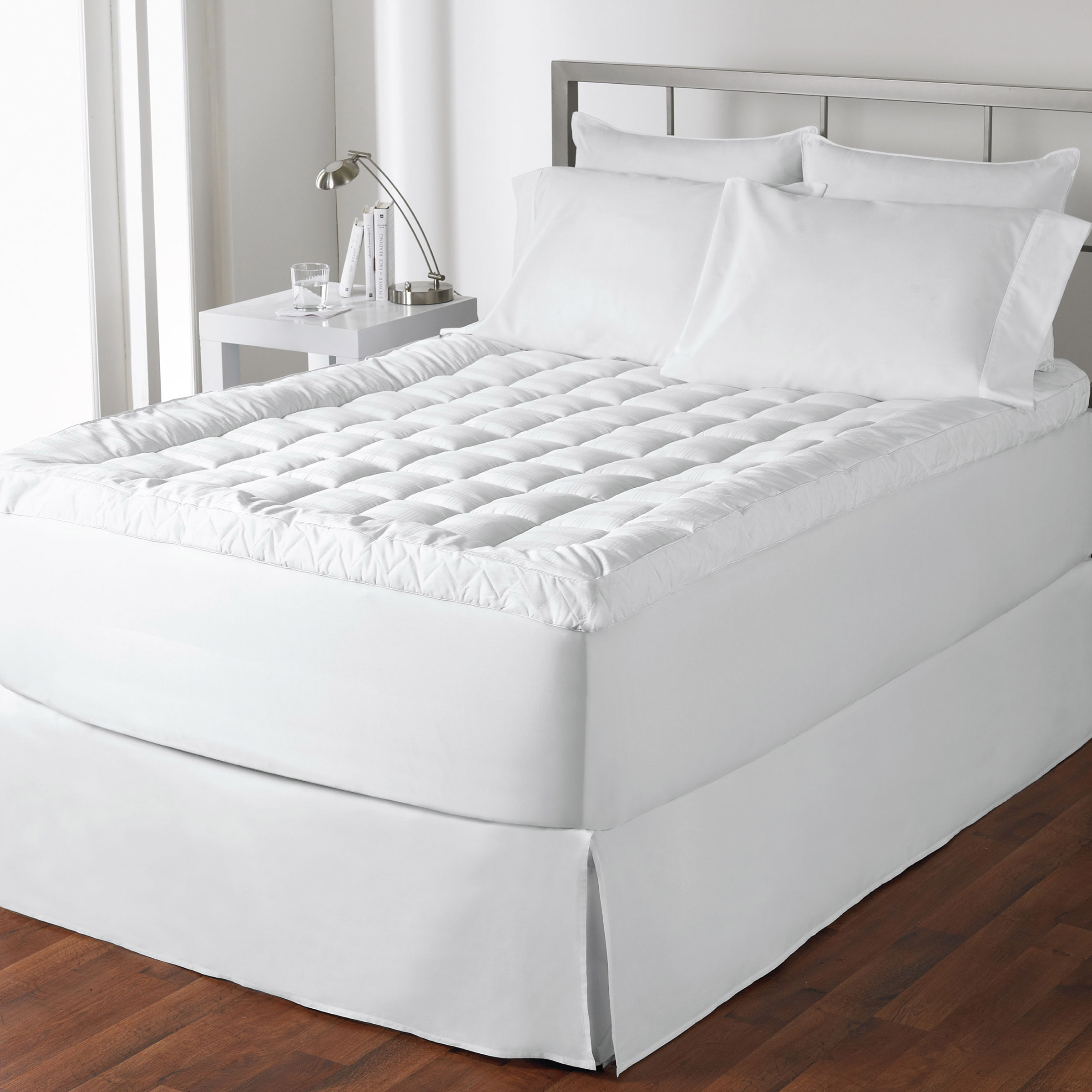 Live comfortably cuddlebed mattress topper twin ebay for Save big mattress bedrooms smyrna ga