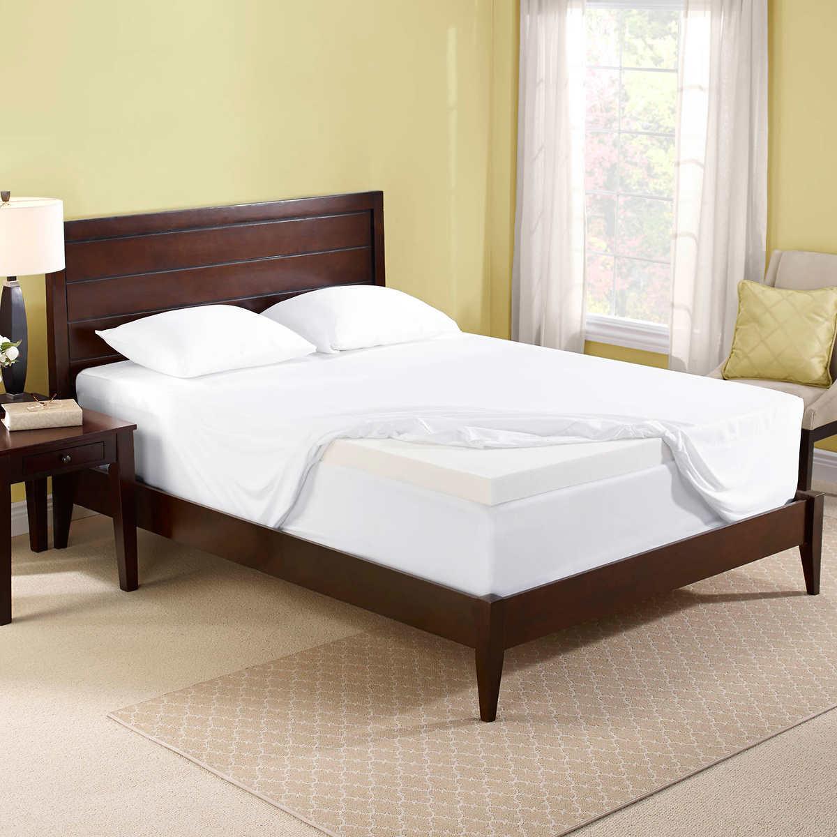memory topper kitchen queen dining mattress price dp pad com amazon best foam inch