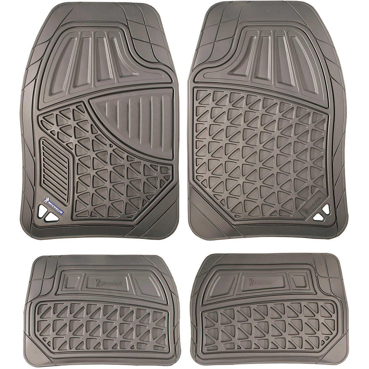 Michelin heavy duty 4 piece floor mat set