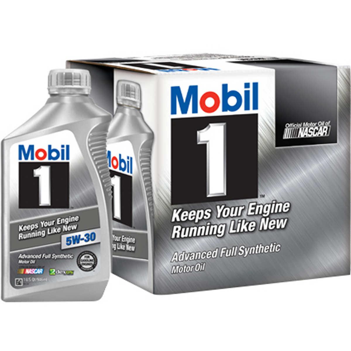 Full Synthetic Oil >> Mobil 1 Full Synthetic Motor Oil 5w 30